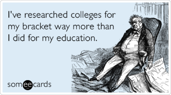 Research education college basketball bracket sports ecards someecards