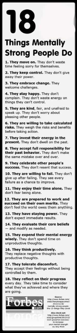 Successful habits