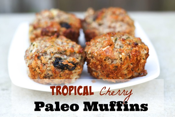 Cherry tropical muffins  1 of 1