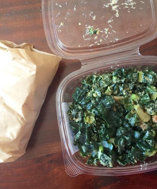 Kale saladdd