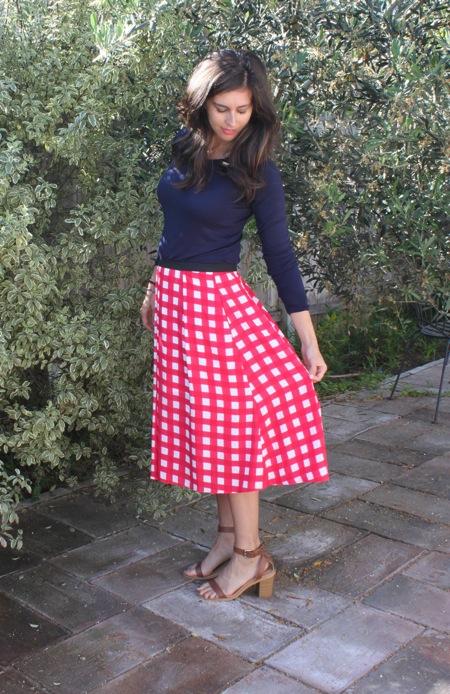 Printed skirt  1 of 1 2