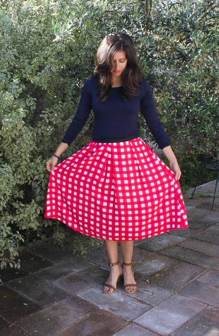 Printed skirt  1 of 1