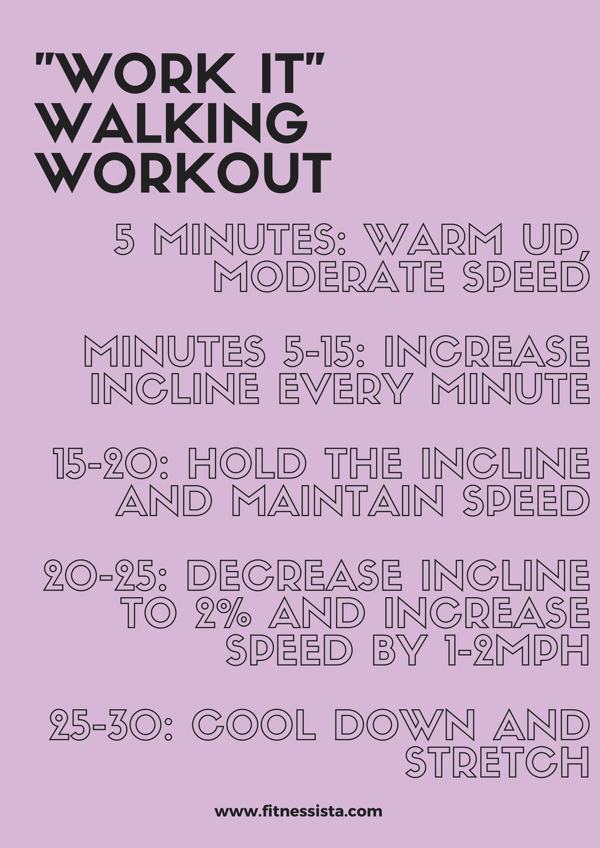 WORK IT Walking workout