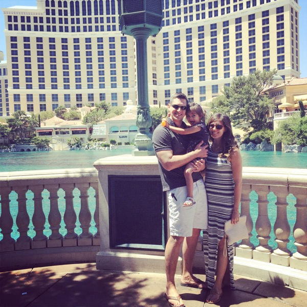 Fam at bellagio