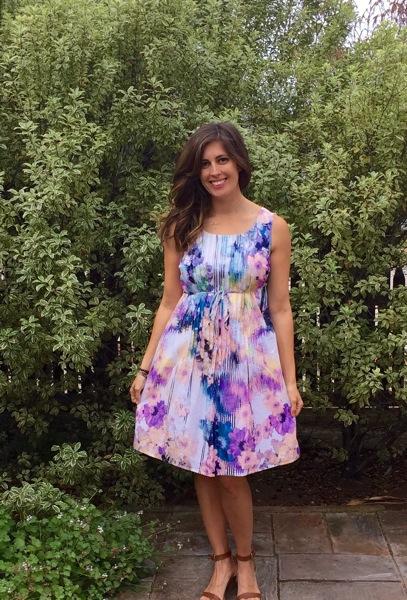 Stitch Fix maternity flower print dress