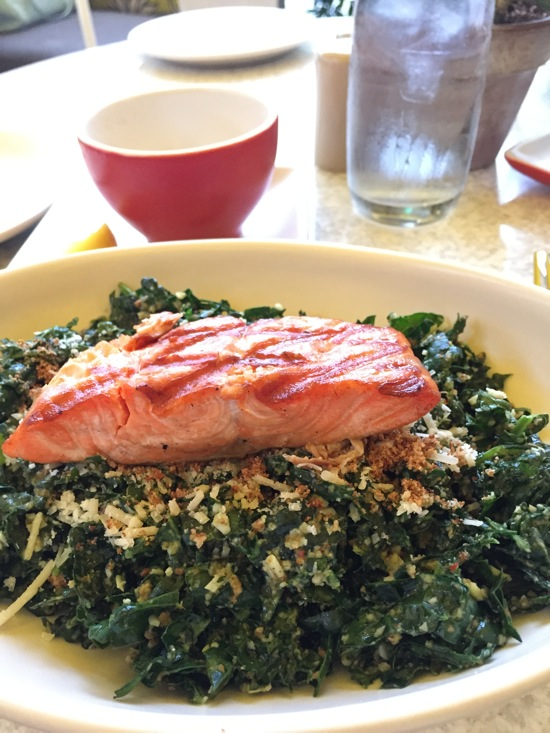 Kale salad at true