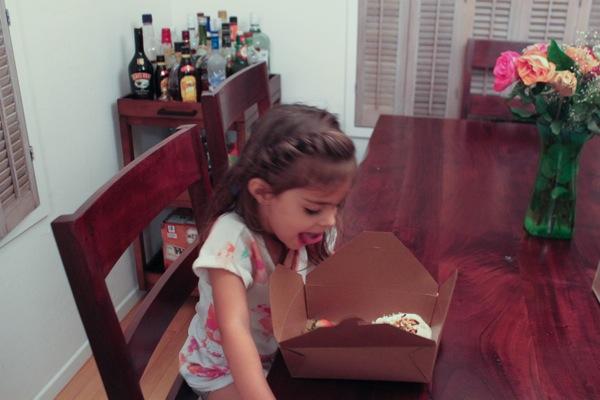 Livi and dessert  1 of 1 2