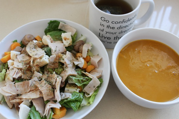 Soup and salad  1 of 1