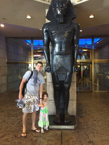 Tom and liv at luxor