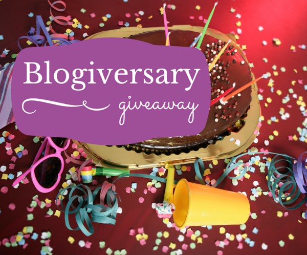 Blogiversary giveaway time