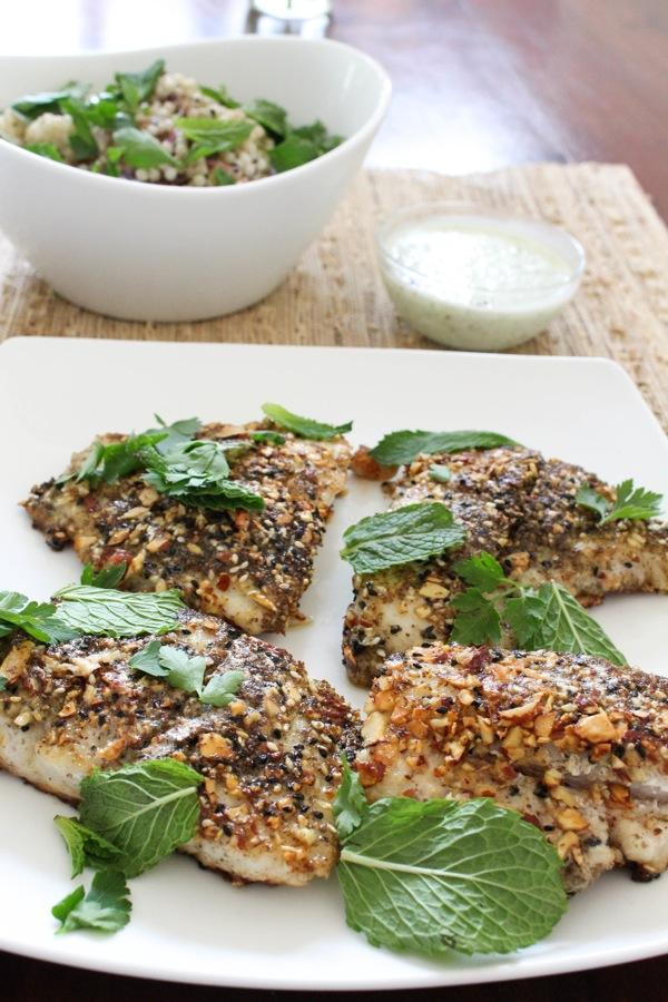 Blue apron dukkah crusted catfish 1 of 1 5