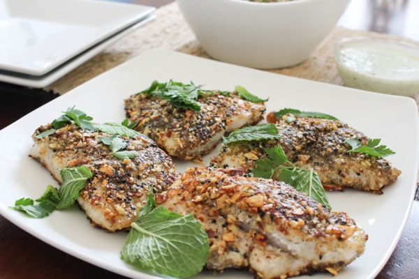 Blue apron dukkah crusted catfish 1 of 1 7