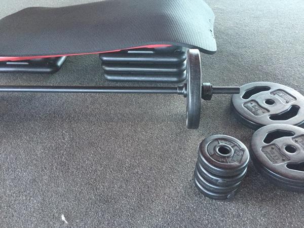 Bodypump weights