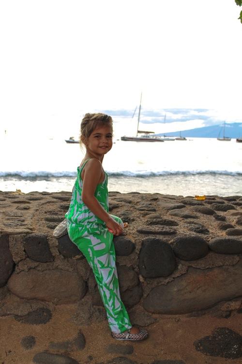 Livi at luau  1 of 1