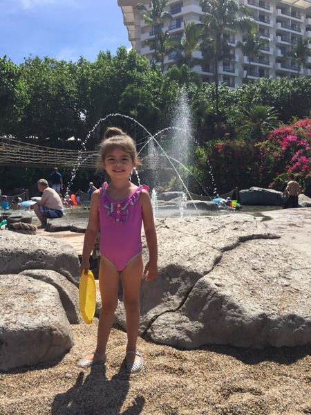 Livi at pool