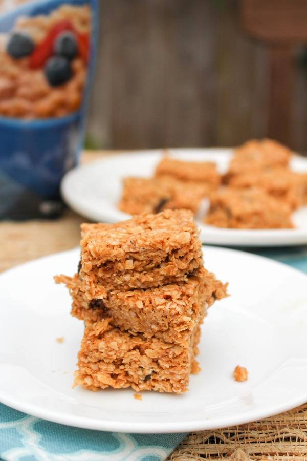 No bake peanut butter oat bars  1 of 1 2