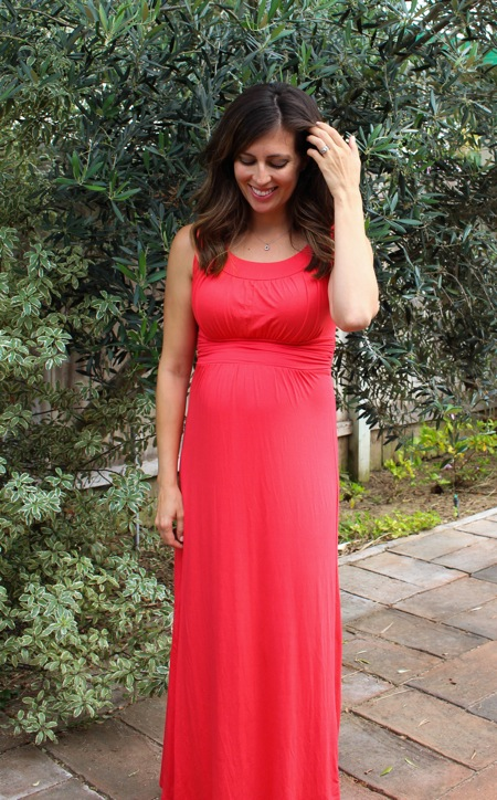 Sleeveless maxi dress win from Stitch Fix for Vacation