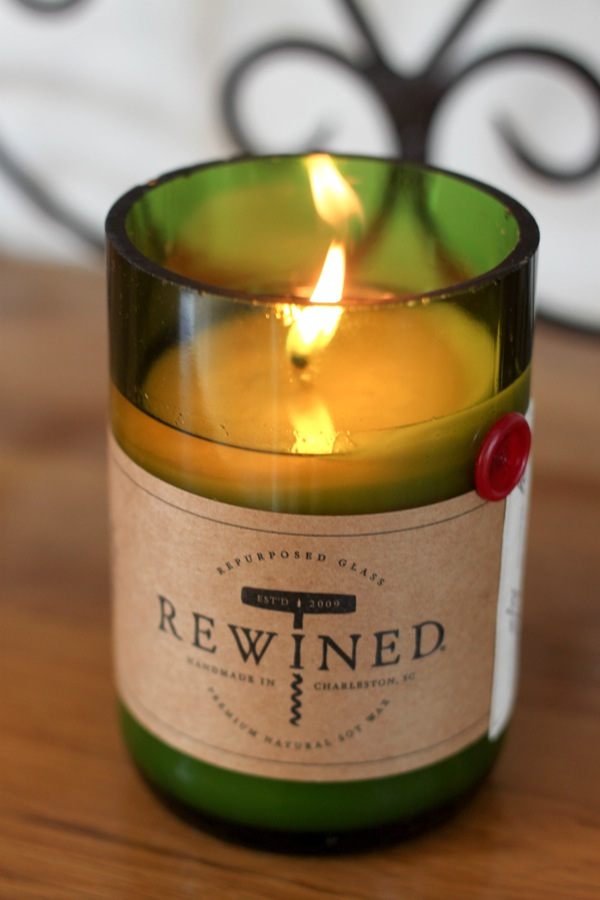 Rewined candle  1 of 1