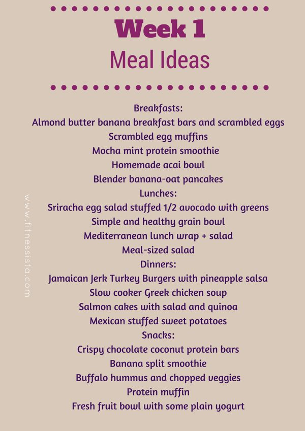 Ssu2015 meal ideas
