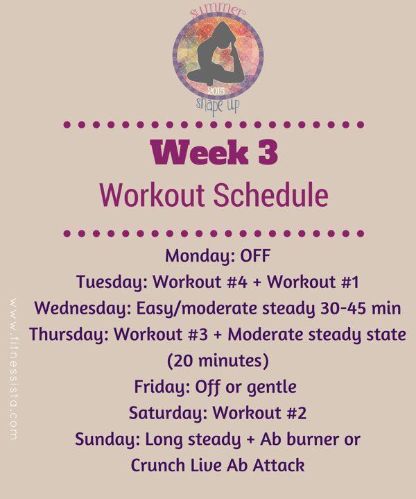 Ssu2015 week 3 workouts