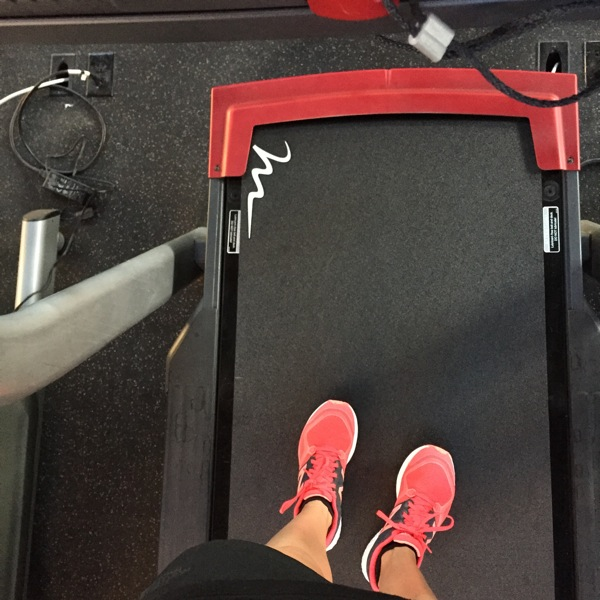 Treadmill walk