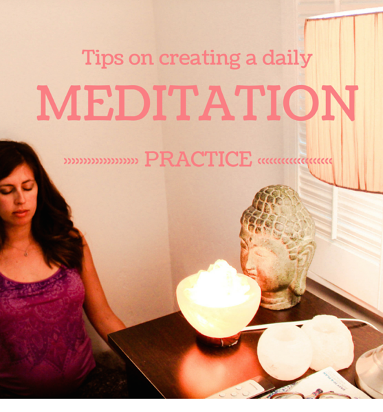 Create a daily meditation practice
