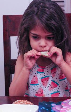 Eating chokes  1 of 1