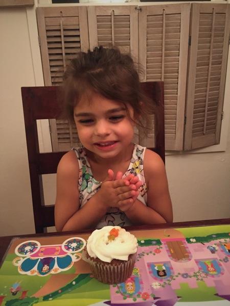 Half birthday girl