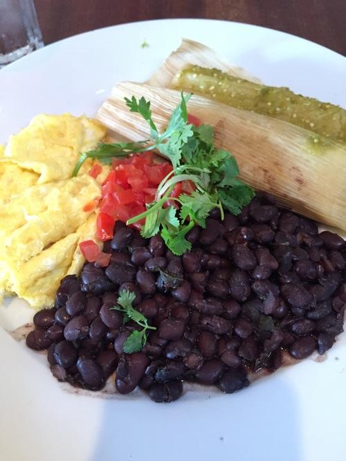 Isabel bfast tamales