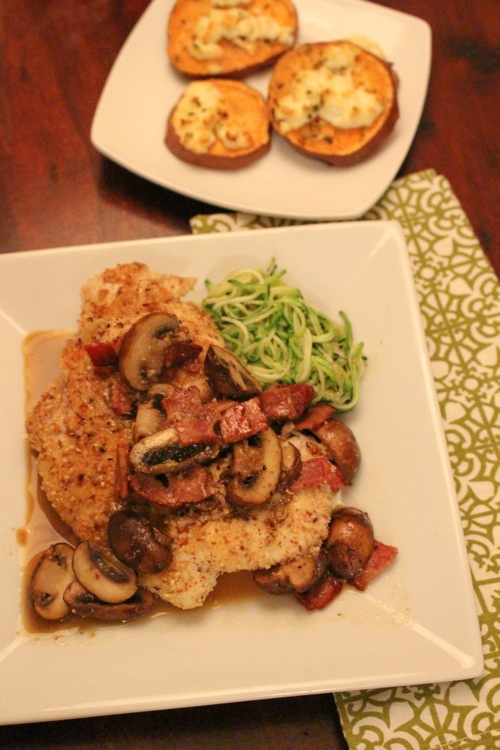Pan fried balsamic mushroom chicken  1 of 1 2