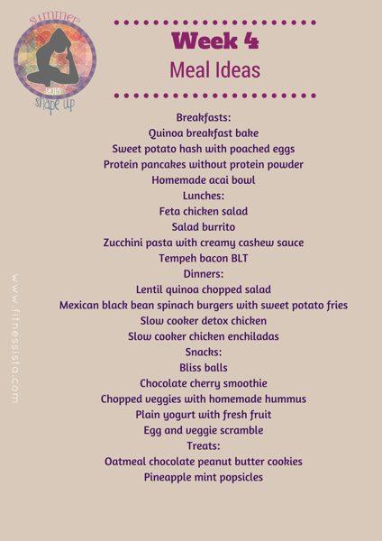 Ssu2015 week 4 meals