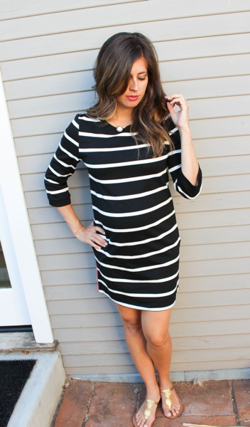 Strpe dress 1 of 1
