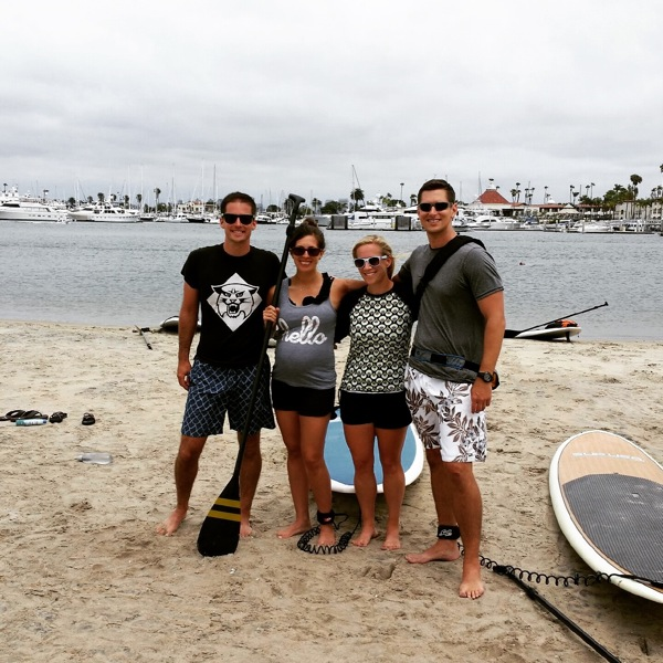 Sup with matt and kath