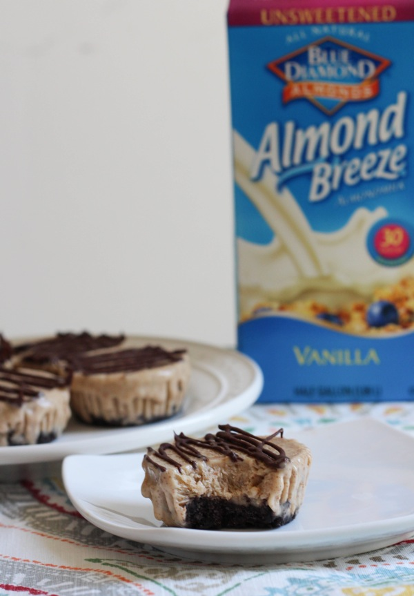 Almond butter ice cream cakes 1 of 1 2
