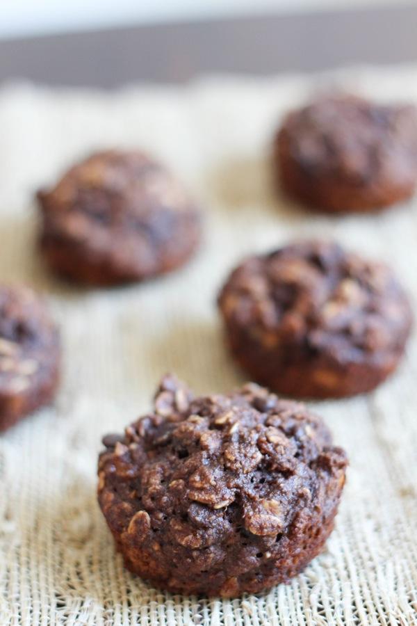 Healthy chocolate banana muffins  1 of 1 2