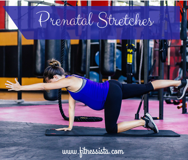 Prenatal stretches