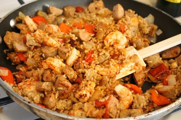 Shrimp and turkey jambalaya  1 of 1 3
