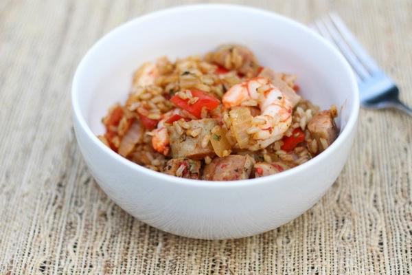 Shrimp and turkey jambalaya  1 of 1