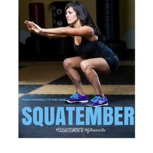 Happy Squatember (Challenge #1) + back in the game