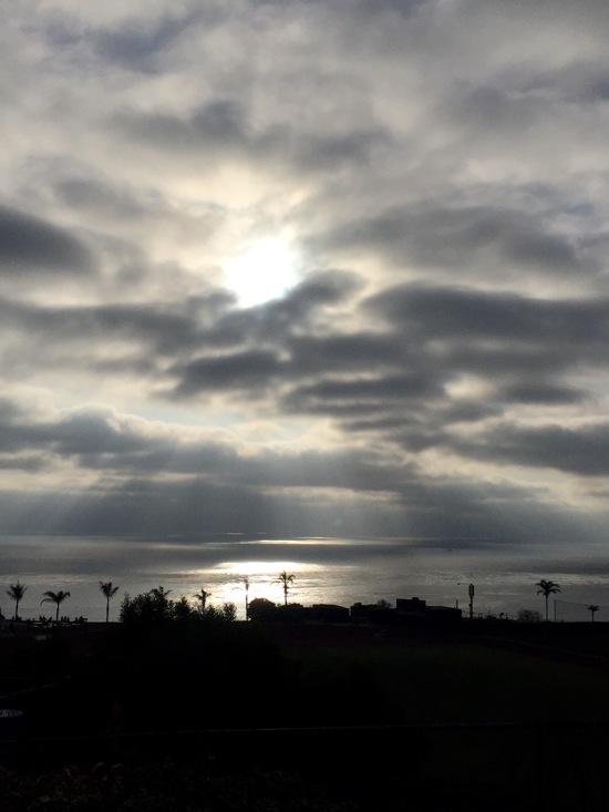 Sunset at sun cliffs