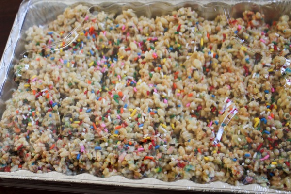 Cake batter crispies 2