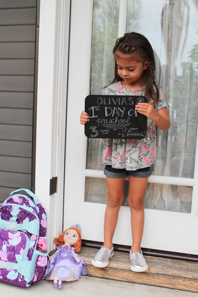 First day of preschool 1 of 1 3