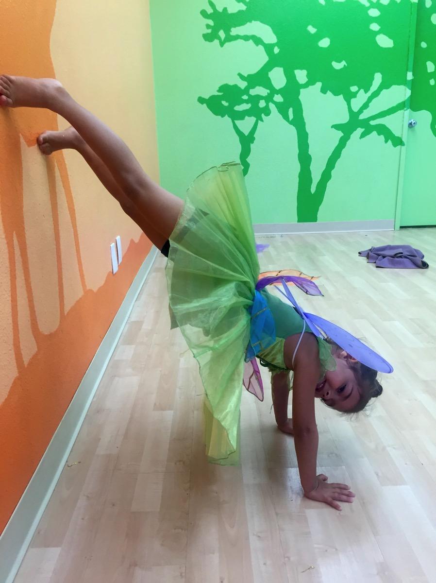 Livi fairy yoga