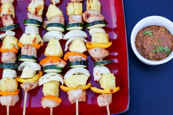 Pineapple chicken skewers 1 of 1 2