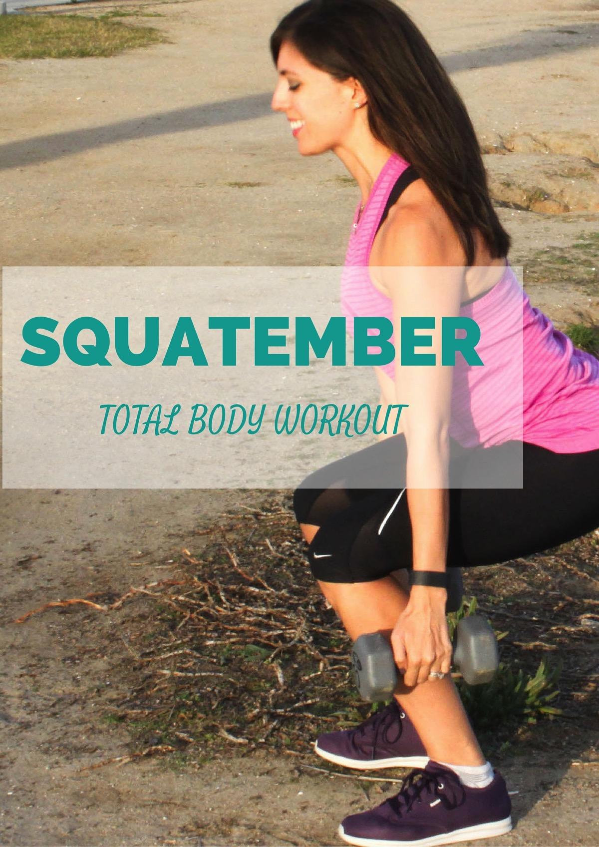 Squatember total body