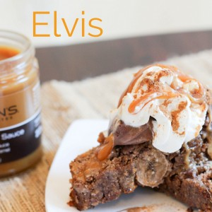 The Crazy Elvis... a grain and dairy-free dessert. You need this in your life. www.fitnessista.com