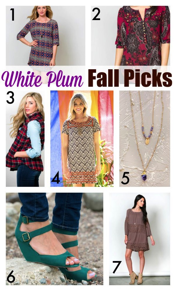 White plum picks