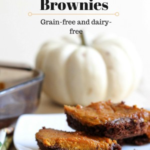 A delicious and healthy pumpkin dessert for the holiday season. This is perfect to make-ahead for holiday parties, and no one will know that it's free of dairy, grains and refined sugar. www.fitnessista.com