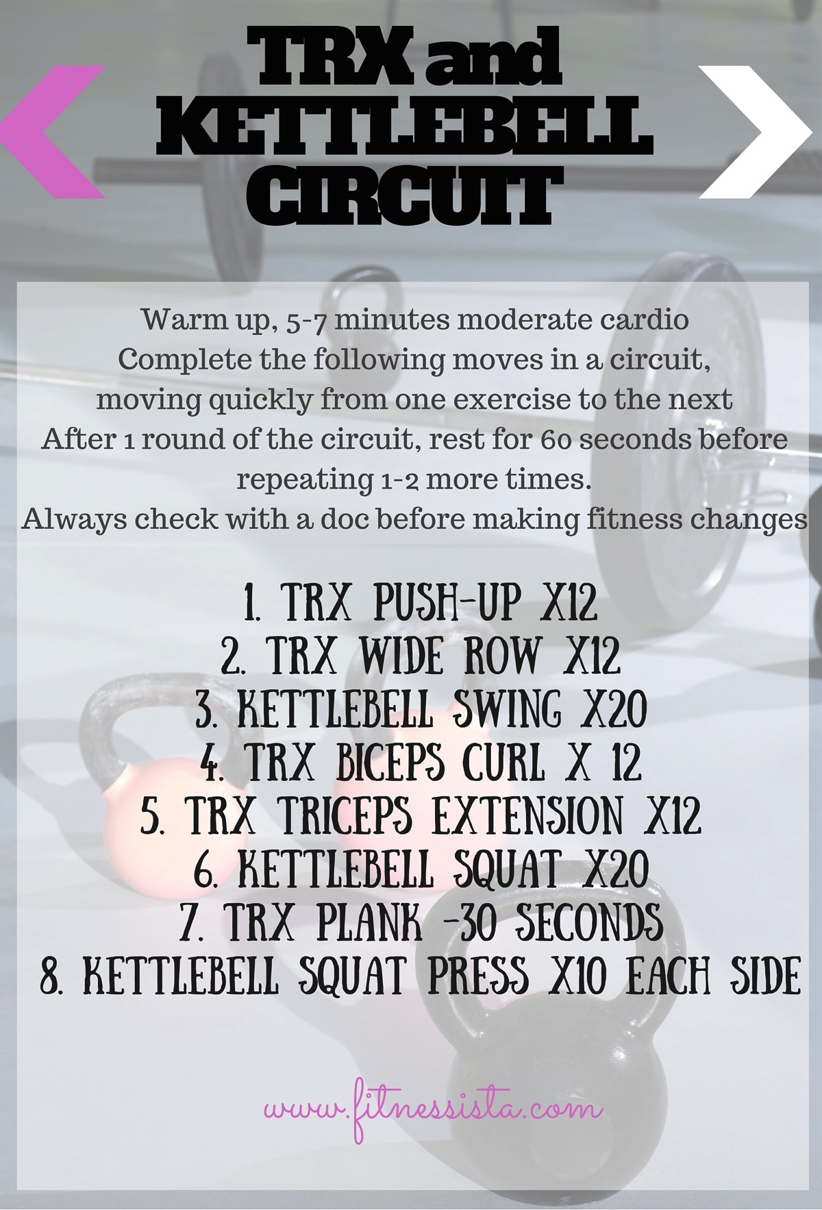 TRX and KETTLEBELLCIRCUIT 2