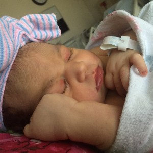 Baby Penelope is here!
